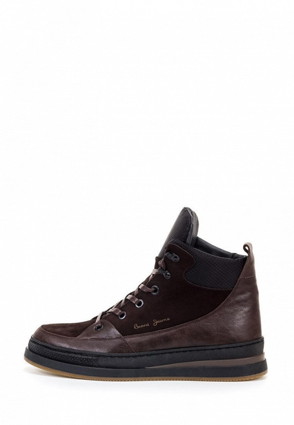 мужские ботинки broni, коричневые