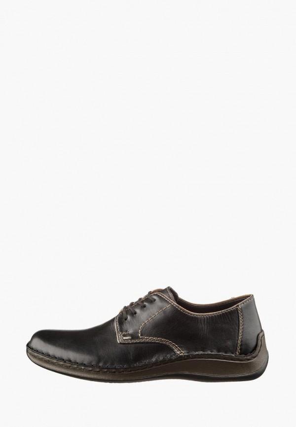 мужские туфли rieker, коричневые