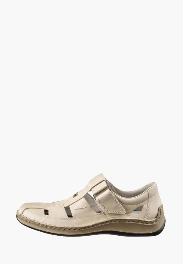 мужские сандалии rieker, бежевые