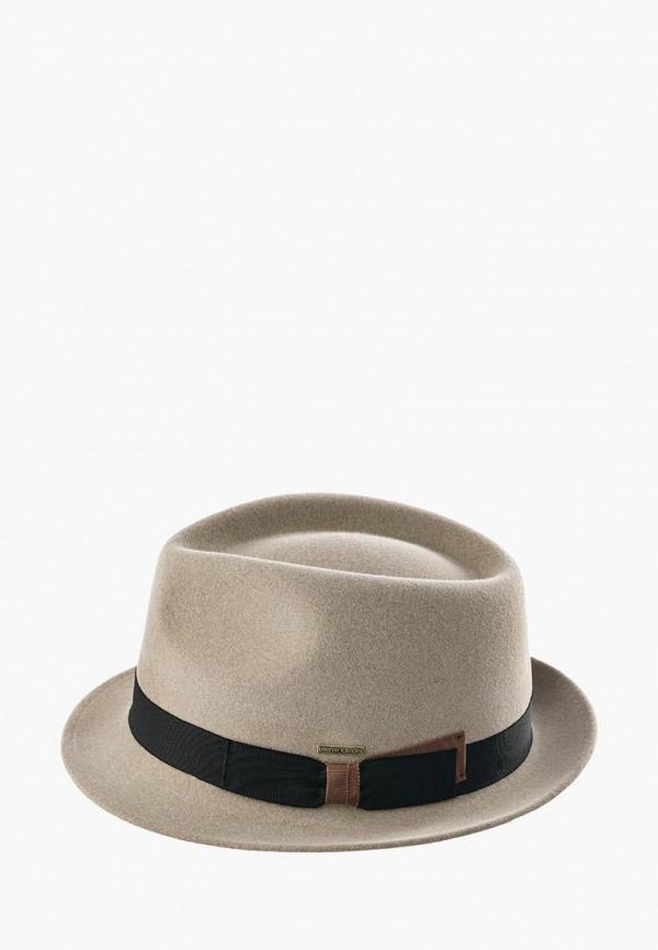 мужская шляпа pierre cardin, серая