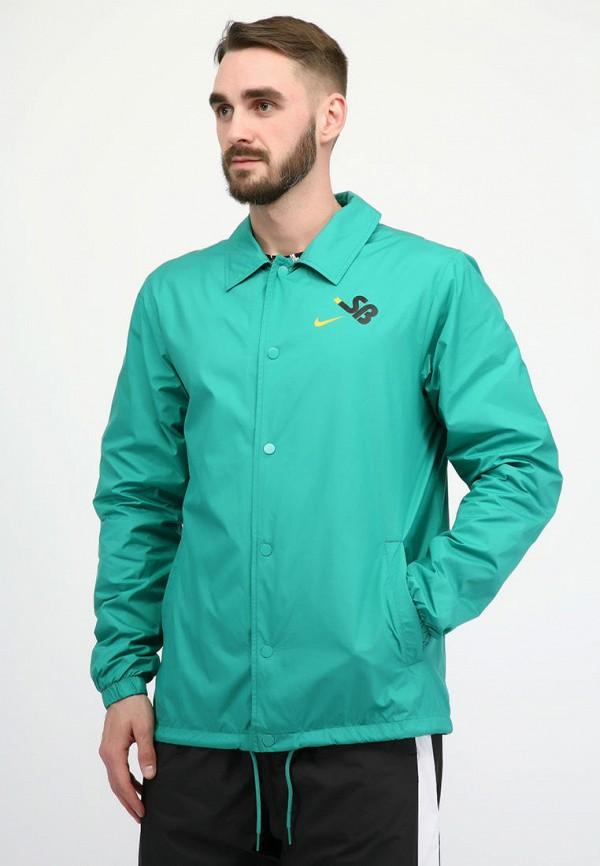 мужская куртка nike, бирюзовая