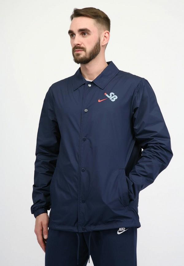 мужская куртка nike, синяя