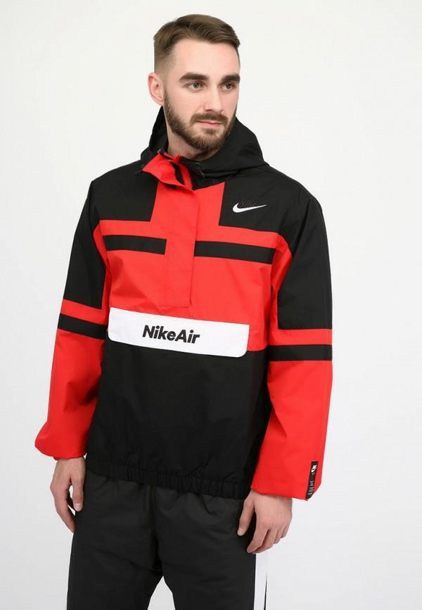 мужская куртка nike, красная