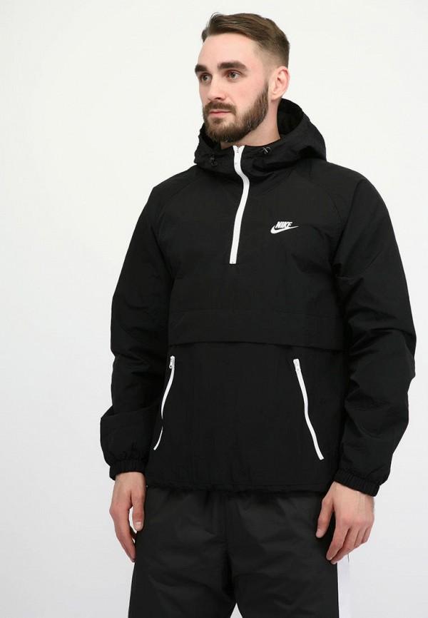 мужская куртка nike, черная