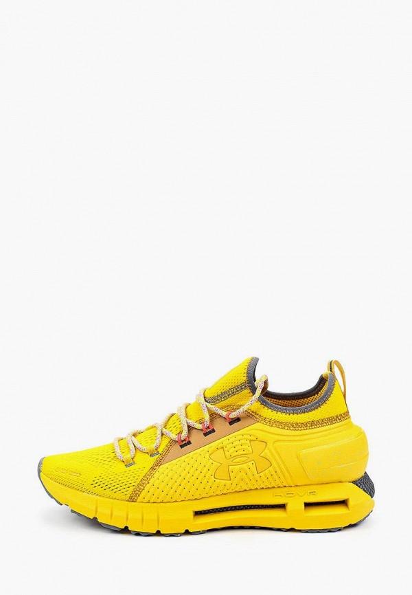 мужские кроссовки under armour, желтые