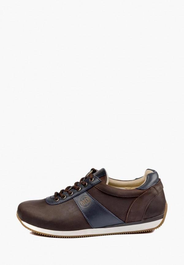 мужские кроссовки my day, коричневые
