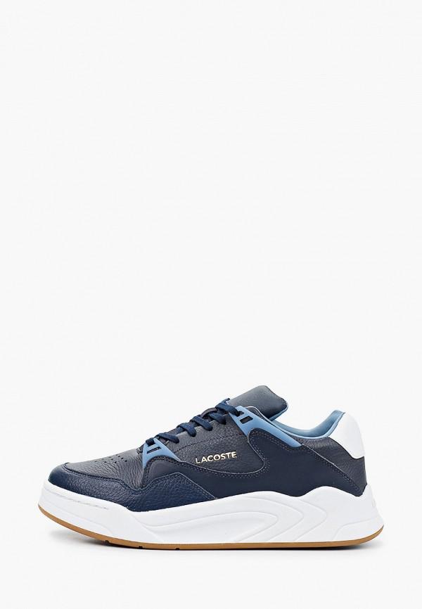 мужские низкие кроссовки lacoste, синие