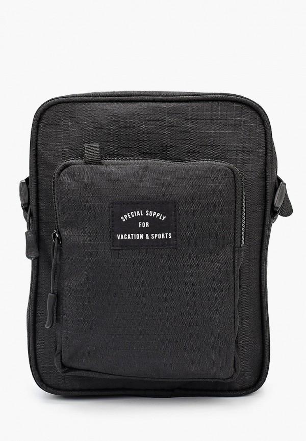 мужская сумка через плечо befree, черная