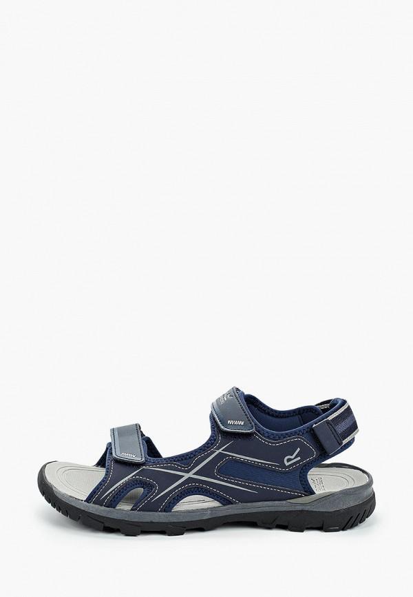 мужские сандалии regatta, синие