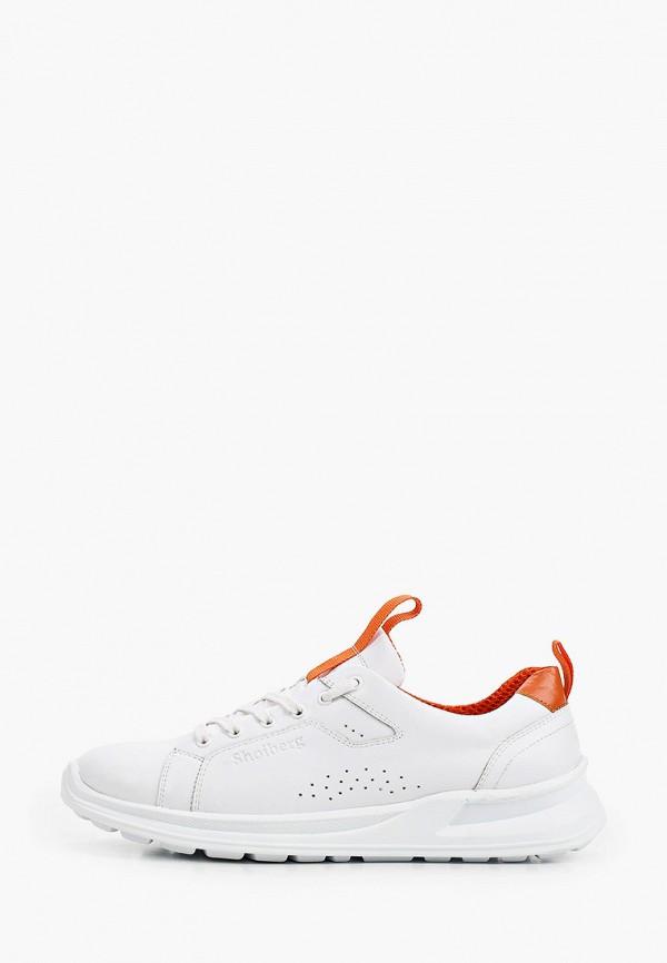 мужские низкие кроссовки shoiberg, белые