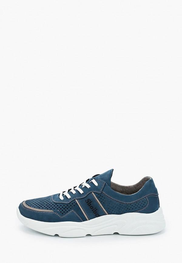 мужские низкие кроссовки shoiberg, синие