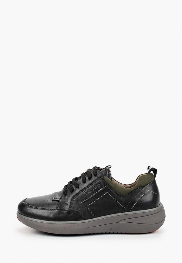 мужские низкие ботинки shoiberg, черные