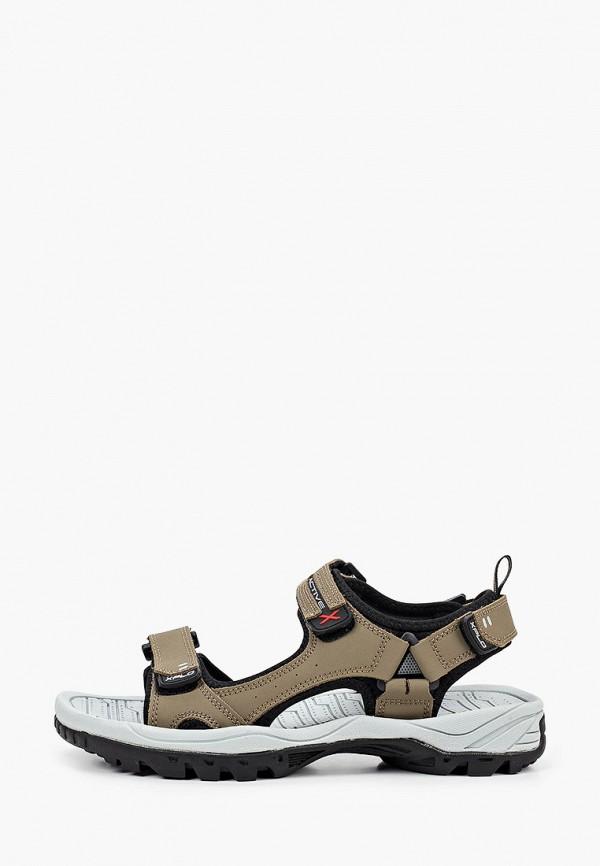 мужские сандалии x-plode, бежевые