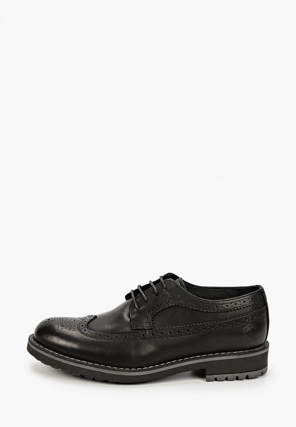 мужские туфли-дерби airbox, черные
