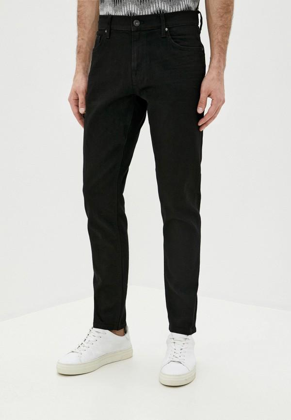 мужские зауженные джинсы colin's, черные