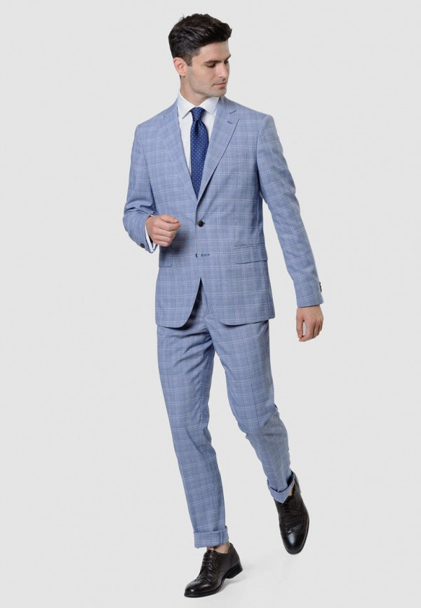 мужской костюм arber, голубой