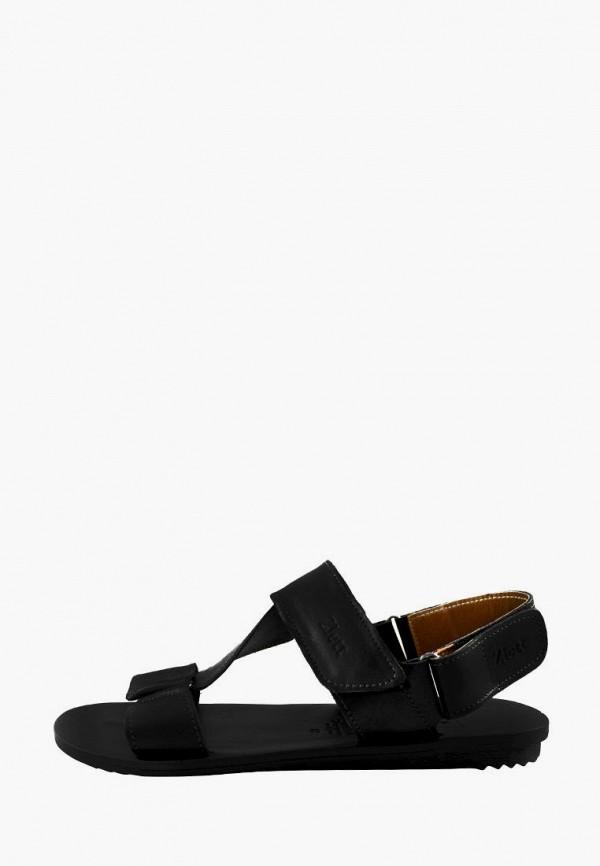 мужские сандалии zlett, черные