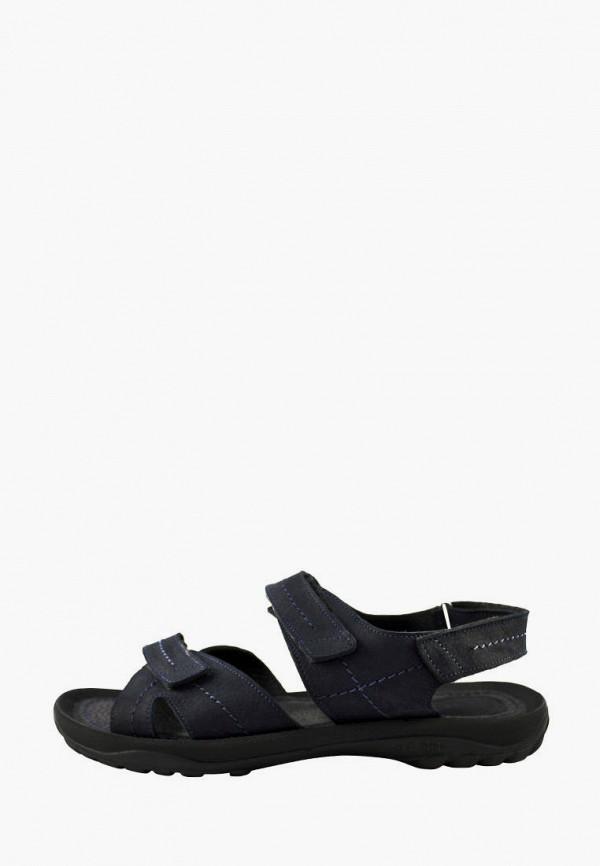 мужские сандалии berg, синие