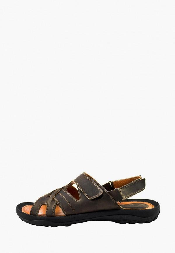 мужские сандалии berg, коричневые
