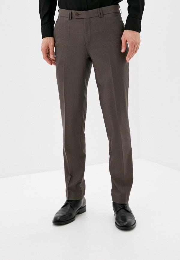 мужские классические брюки bazioni, коричневые