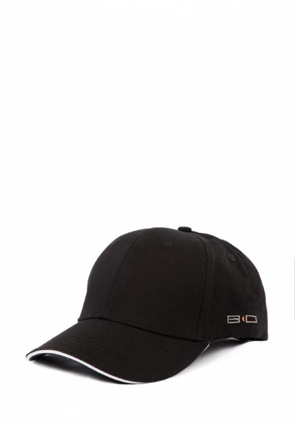 мужская бейсболка bodro design, черная