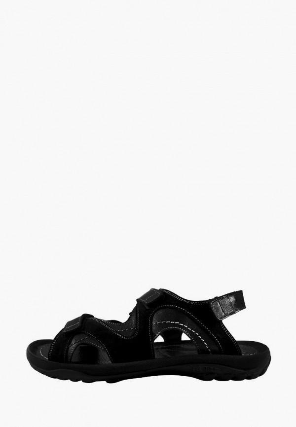 мужские сандалии berg, черные