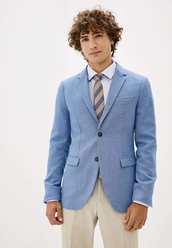 мужской пиджак centauro, голубой