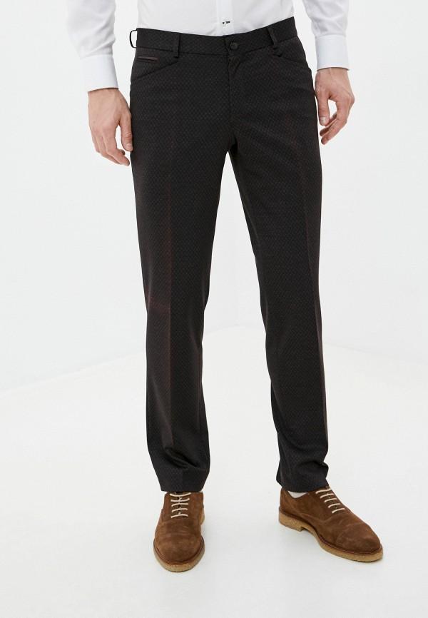 мужские зауженные брюки bazioni, коричневые
