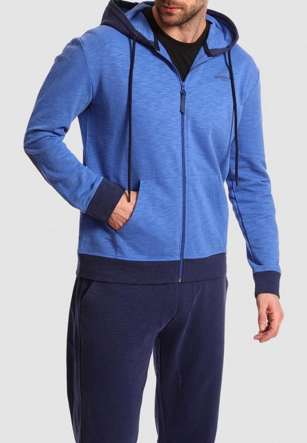 Толстовка Kanzler голубого цвета