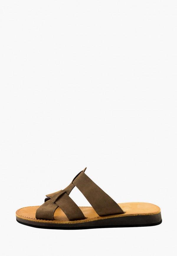 мужские сандалии faber, коричневые