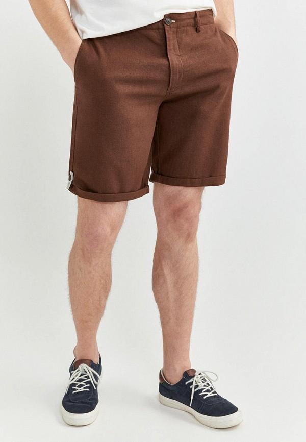 мужские повседневные шорты springfield, коричневые