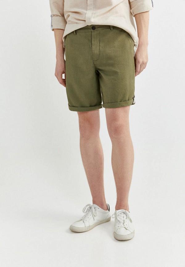 мужские повседневные шорты springfield, зеленые
