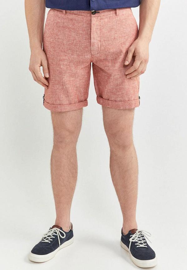 мужские повседневные шорты springfield, розовые