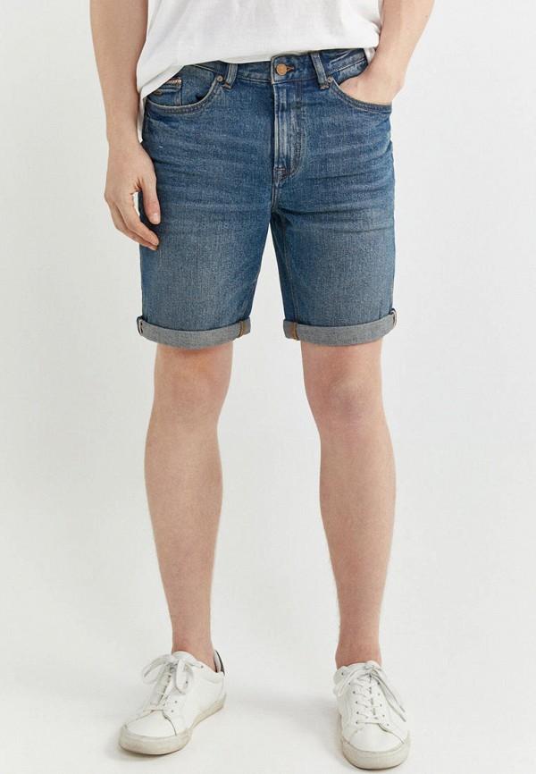 мужские джинсовые шорты springfield, синие