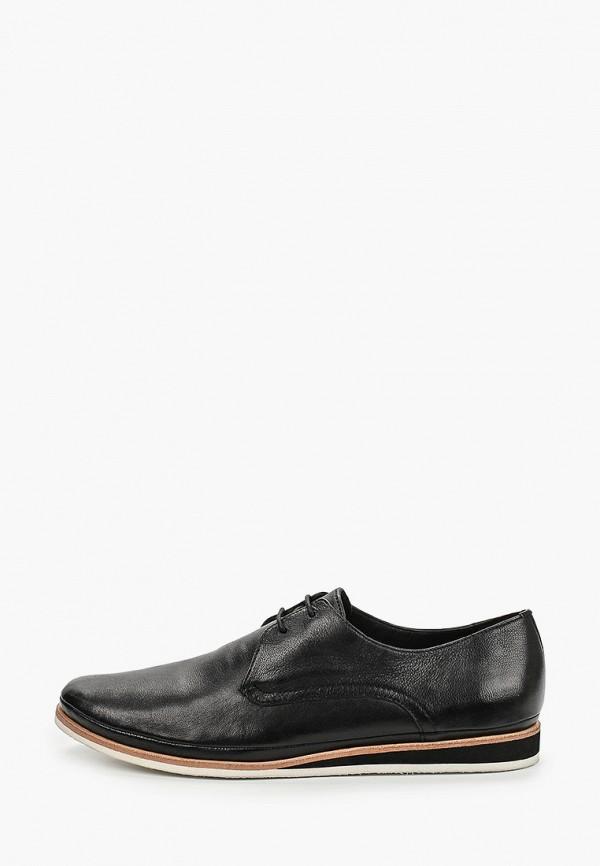 мужские ботинки riveri, черные