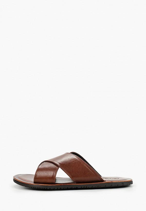 мужские сандалии riveri, коричневые