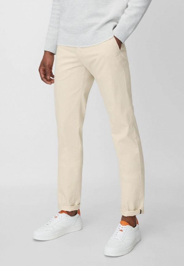 мужские повседневные брюки marc o'polo, бежевые