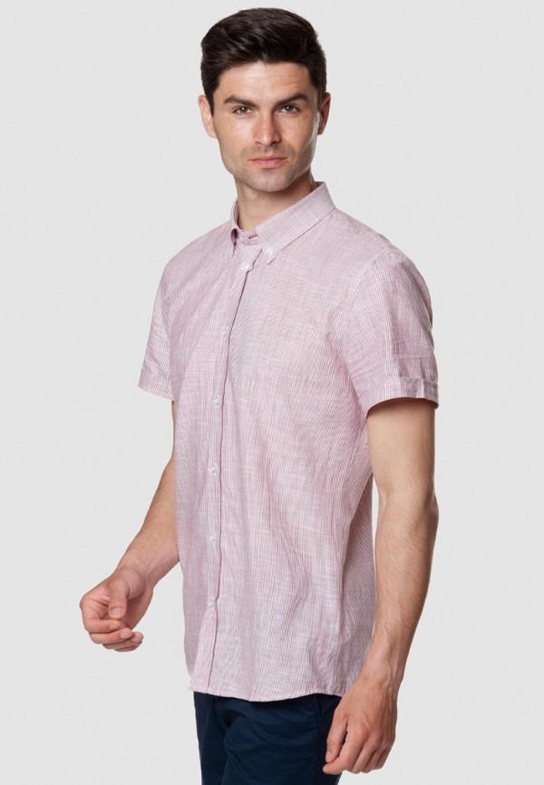 мужская рубашка с коротким рукавом arber, красная
