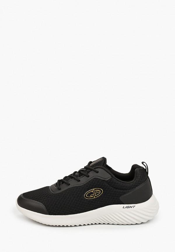 мужские низкие кроссовки g19 sport non stop, черные