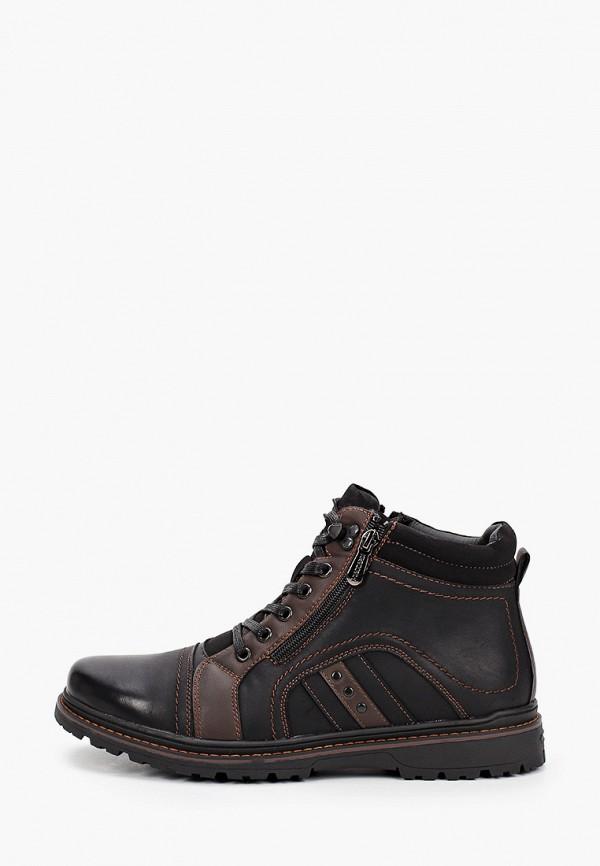 мужские высокие ботинки t.taccardi, черные