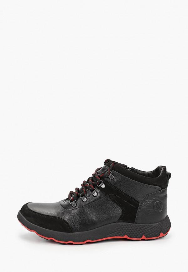 мужские высокие ботинки alessio nesca, черные