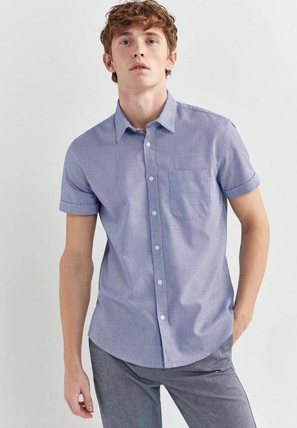 мужская рубашка springfield, голубая