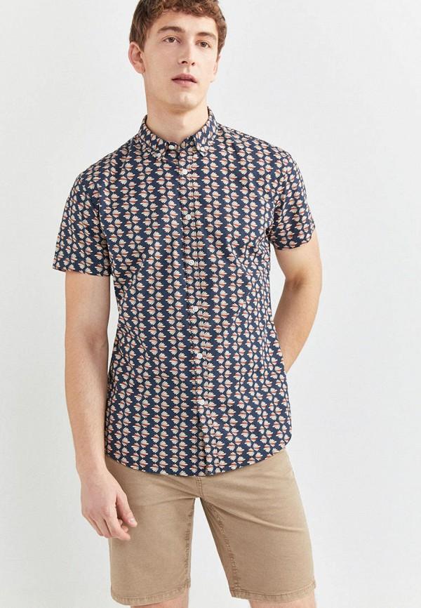 мужская рубашка springfield, синяя