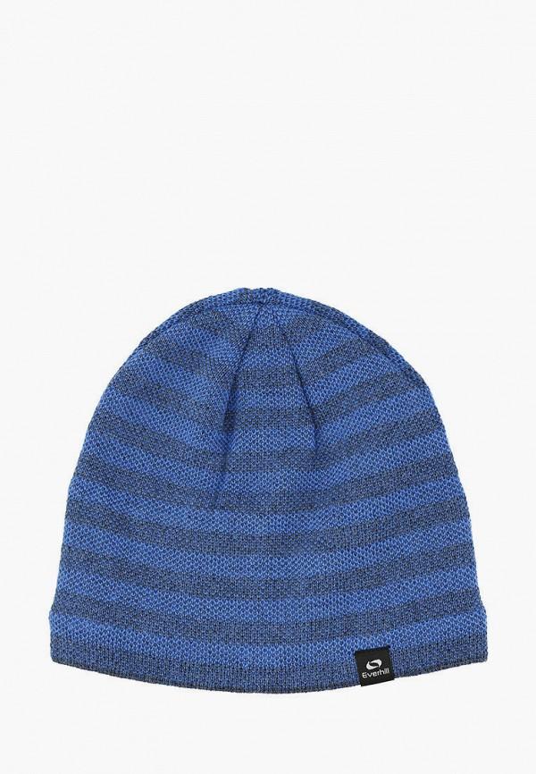 мужская шапка everhill, голубая