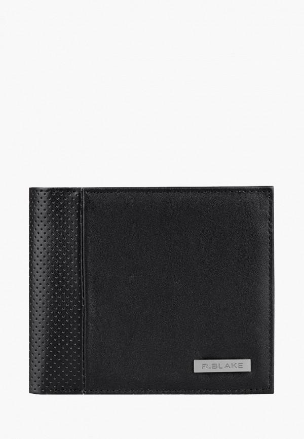 мужской кошелёк r.blake collection for men, черный