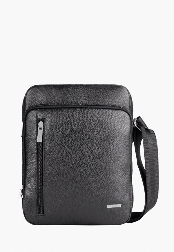 мужская сумка через плечо r.blake collection for men, черная