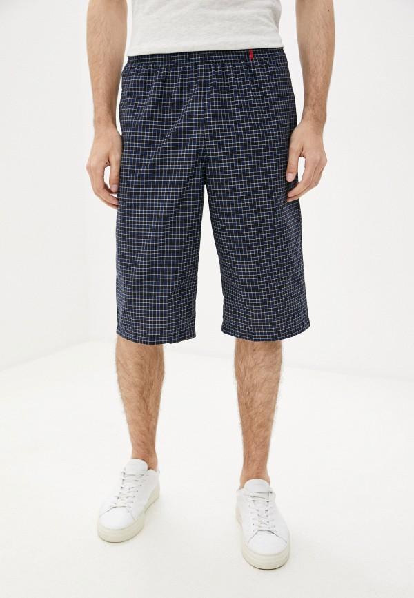 мужские повседневные шорты body star, синие