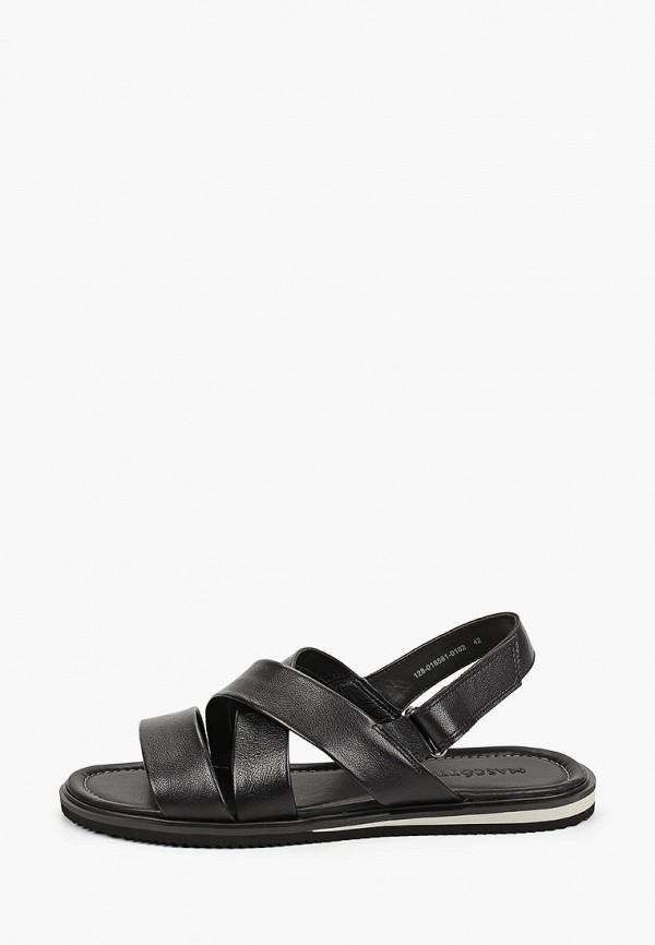 мужские сандалии mascotte, черные