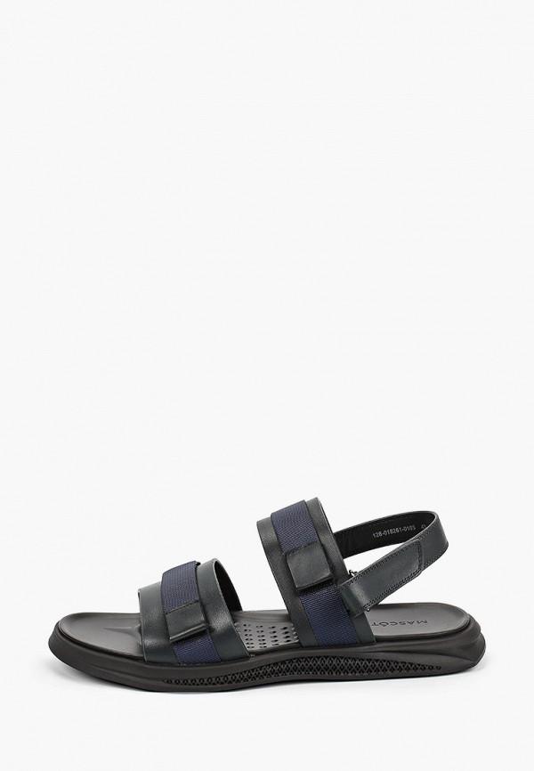 мужские сандалии mascotte, синие