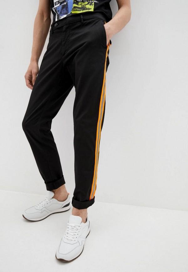 мужские повседневные брюки frankie morello, черные